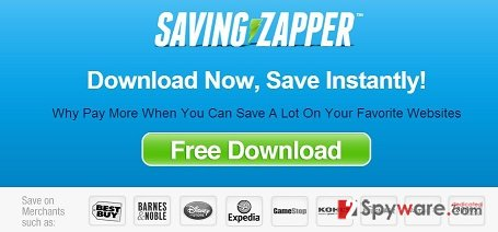 Saving Zapper ads snapshot