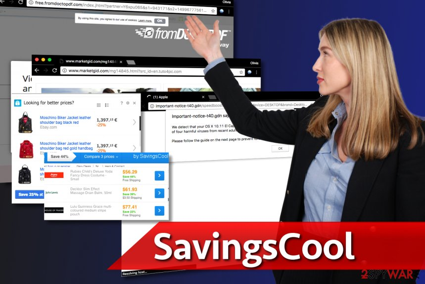 Image showing SavingsCool ads