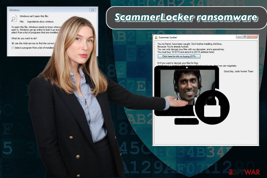 Portraying ScammerLocker crypto-virus