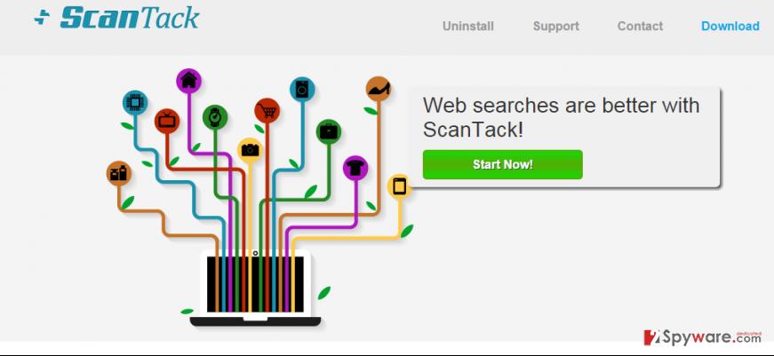ScanTack ads snapshot