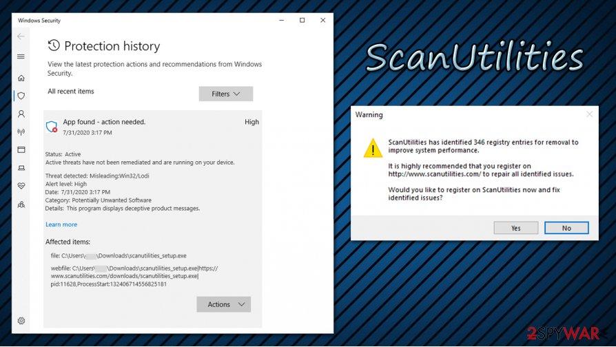 ScanUtilities  detection