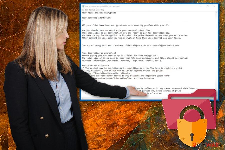 Ironhead ransomware virus
