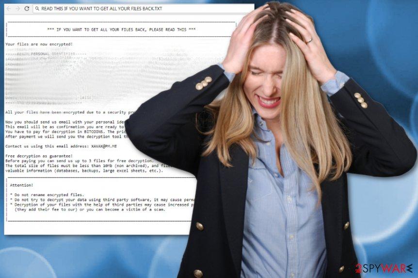 Scarab-Omerta ransomware