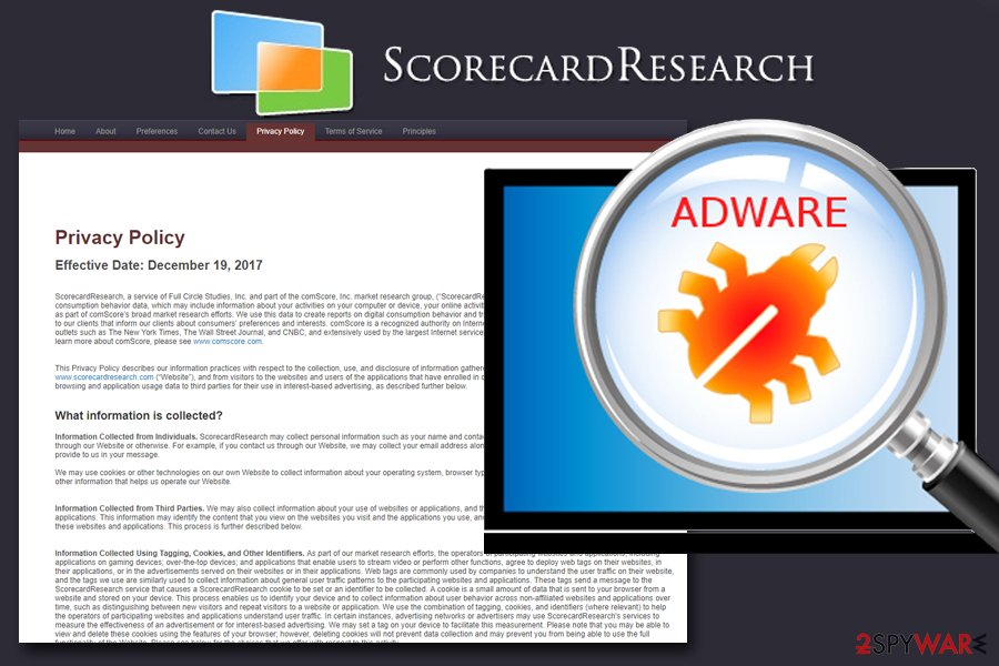 ScorecardResearch adware