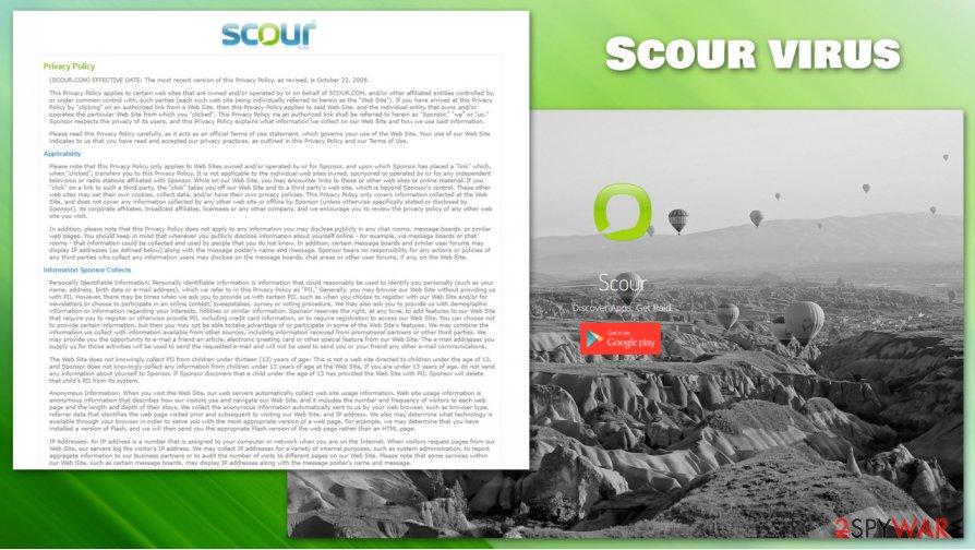 Scour PUP