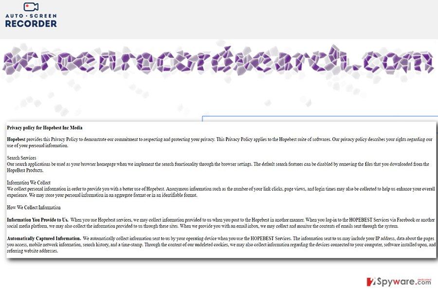 The image illustrating Screenrecordsearch.com