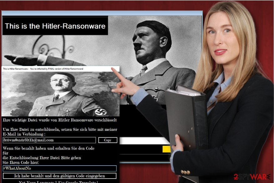 Hitler ransomware virus