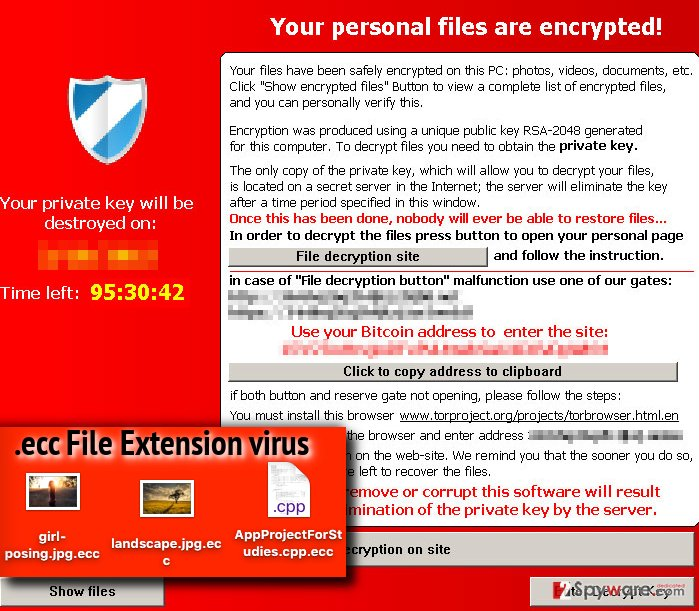 .ecc File Extension virus