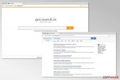 Screenshot of Epicsearch.in