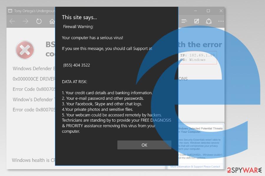 Remove Microsoft Edge virus (Removal Guide) - Sep 2019 update