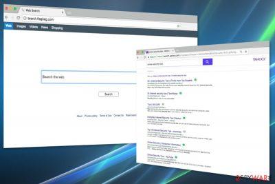 Screenshot of Search.flagbeg.com
