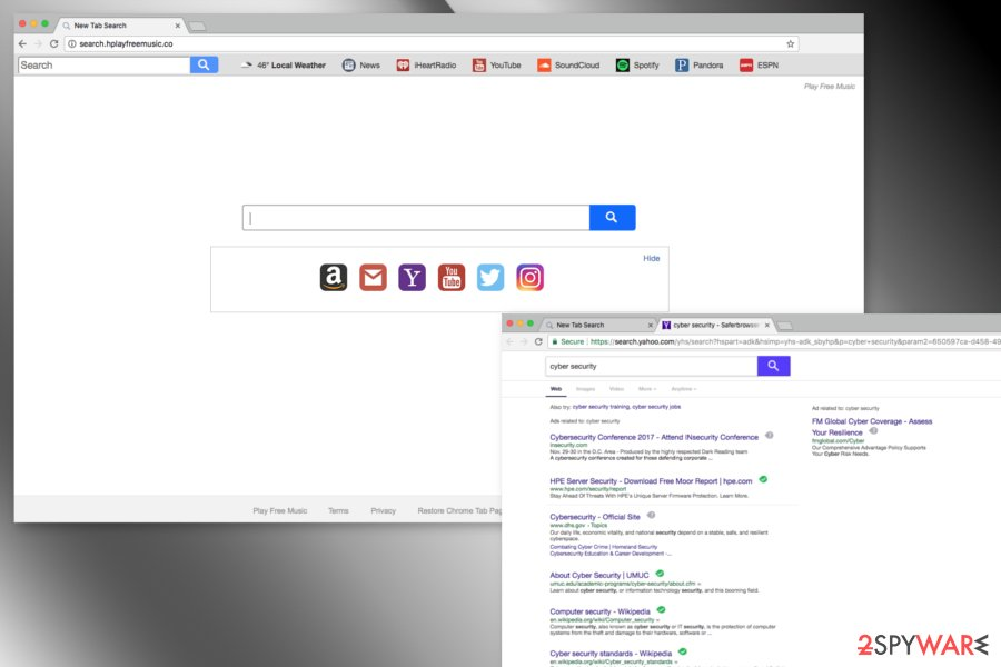 Screenshot of Search.hplayfreemusic.co