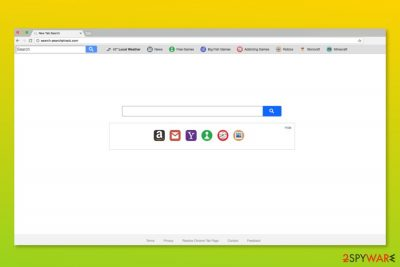 Screenshot of Search.searchptrack.com
