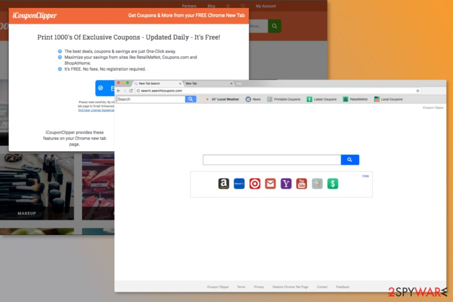 Screenshot of Searchicouponc.com