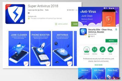 Screenshot of Super Antivirus 2018