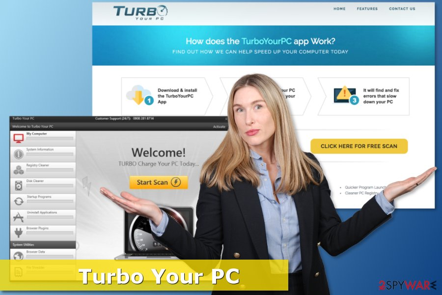 Screenshot of Turbo Your Pc