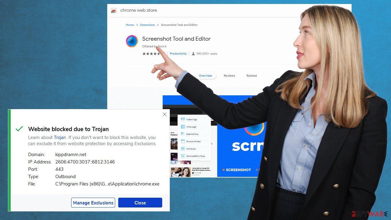 Screenshot Tool and Editor virus