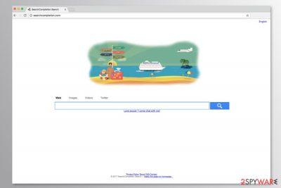 Screenshot of Searchcompletion.com