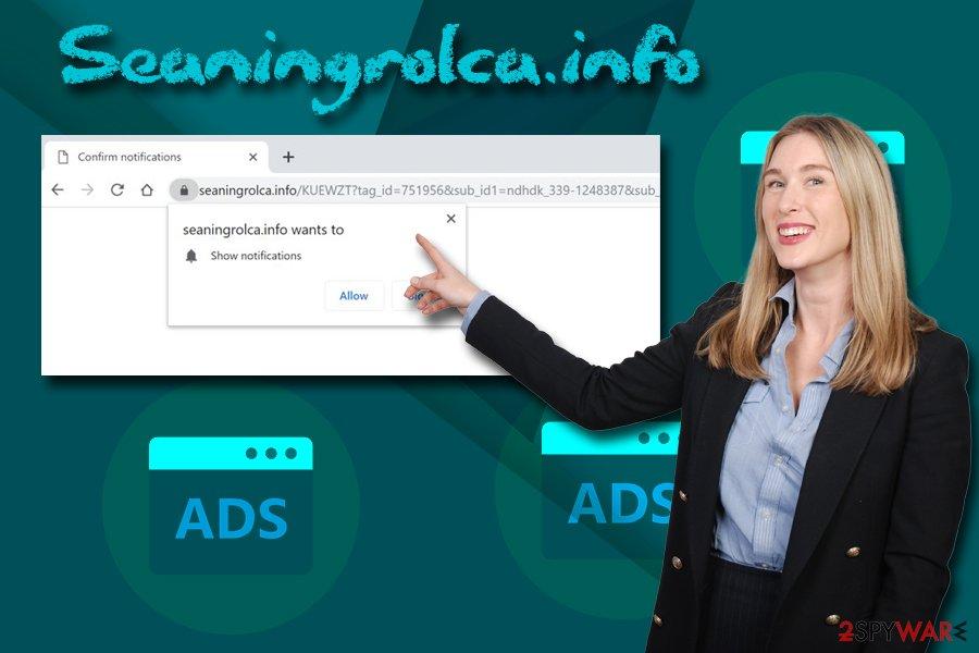 Seaningrolca.info adware