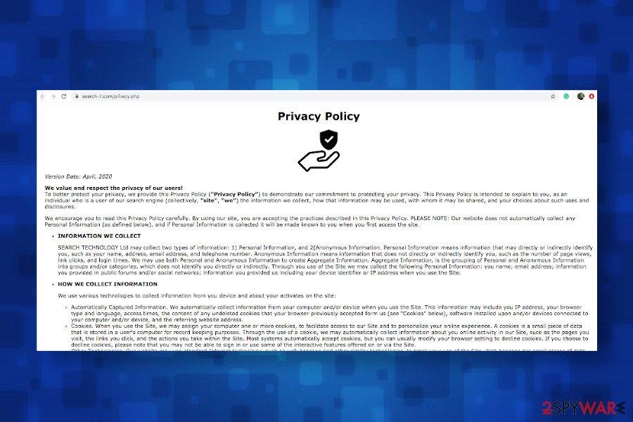 Search-7.com malware