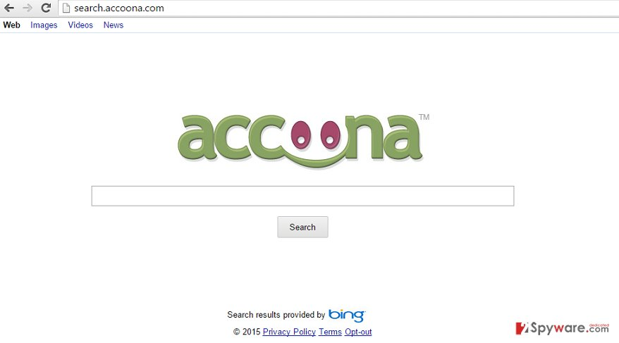 Search.Accoona.com virus