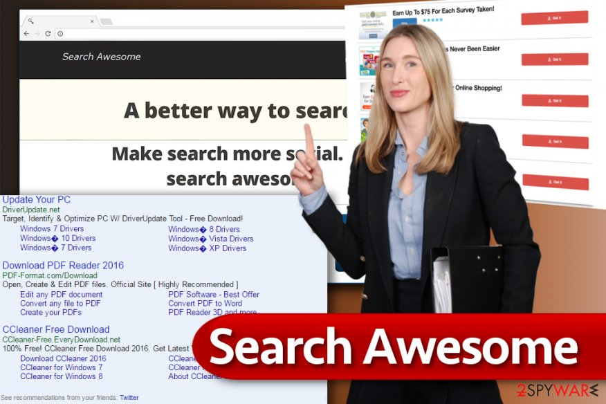 Search Awesome ads