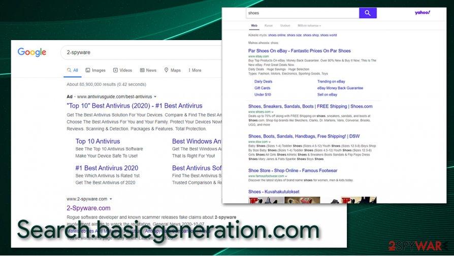 Search.basicgeneration.com redirect