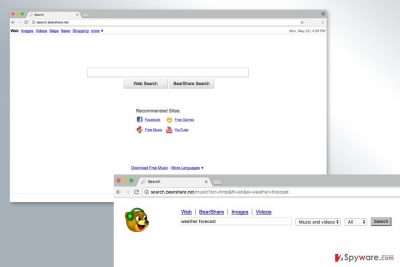 The image of Search.BearShare.com