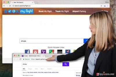 Search.bookmyflight.co virus