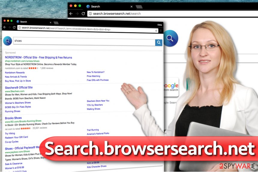 Search.browsersearch.net hijack
