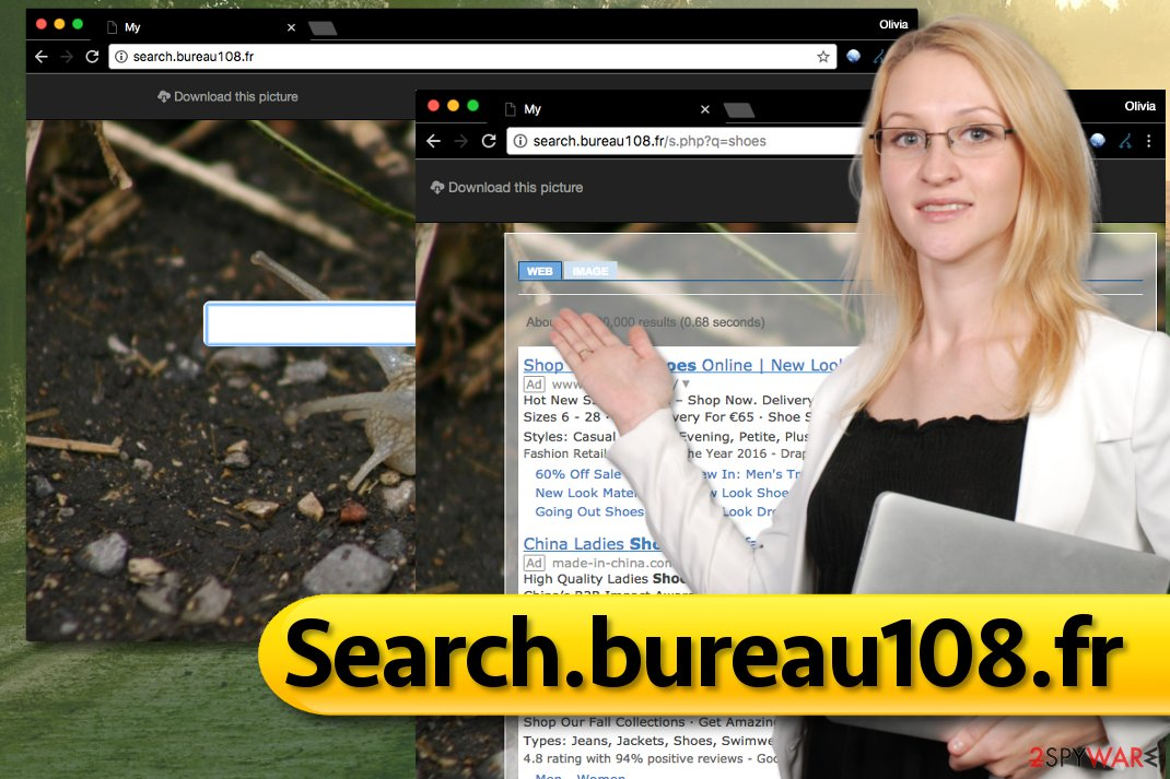 Search.bureau108.fr browser hijack