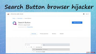 Search Button browser hijacker