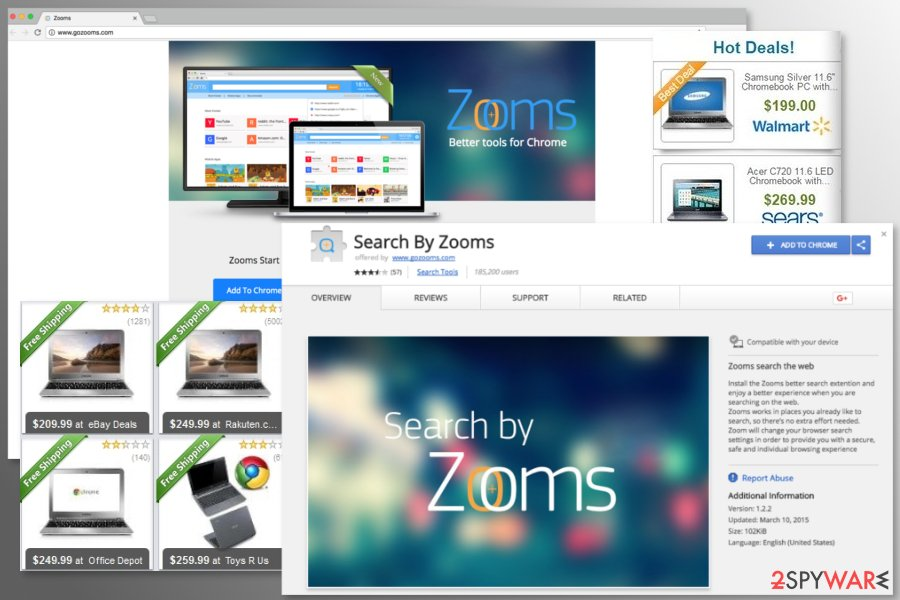 The image of Search By Zooms virus