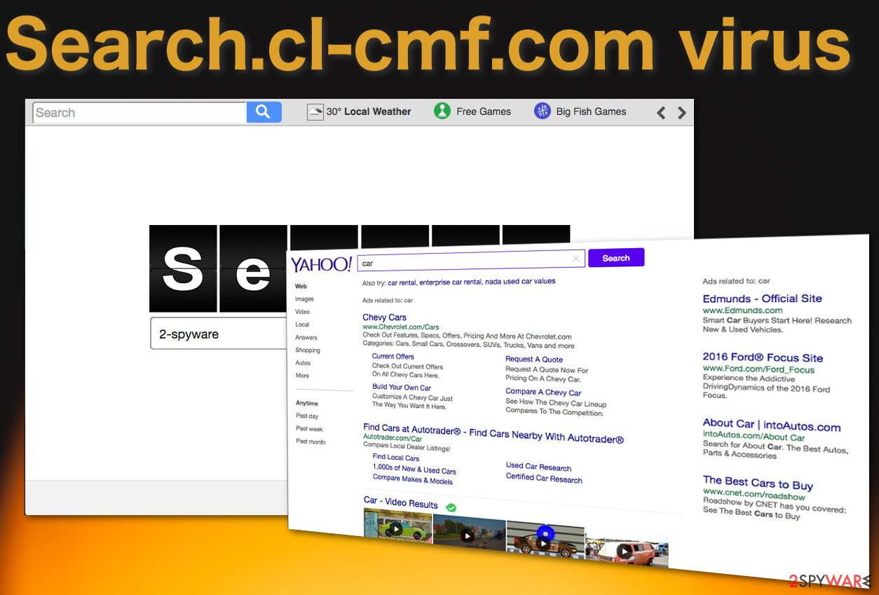 Image of the Search.cl-cmf.com browser hijacker
