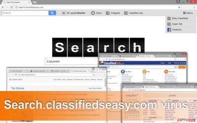 The image of Search.classifiedseasy.com virus