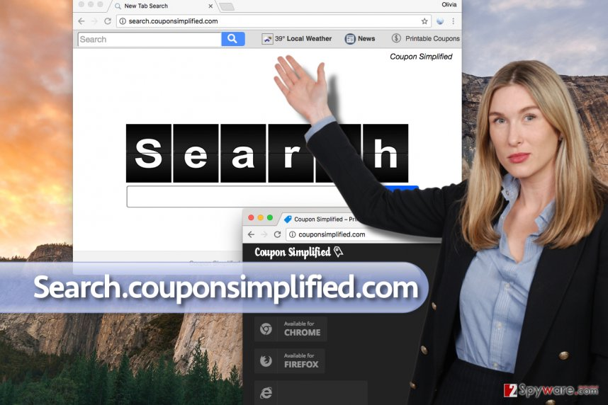 Search.couponsimplified.com virus