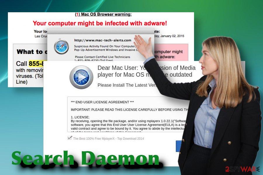Search Daemon malware