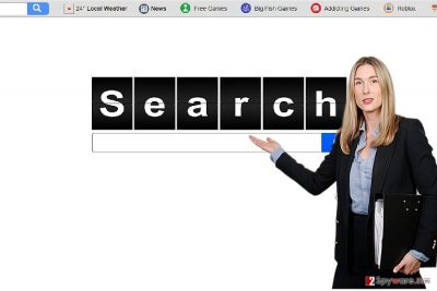 The picture revealing search.easyonlinegameaccess.com