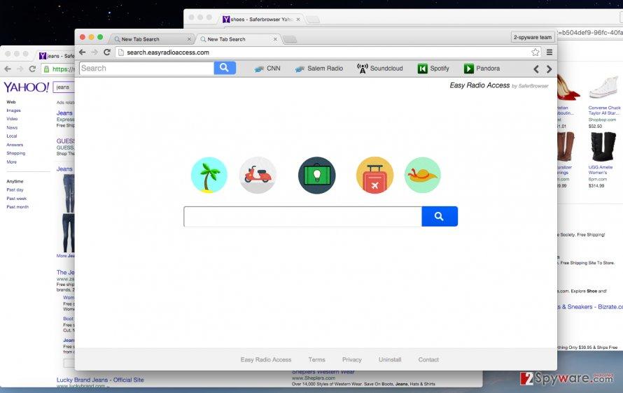 Search.easyradioaccess.com virus