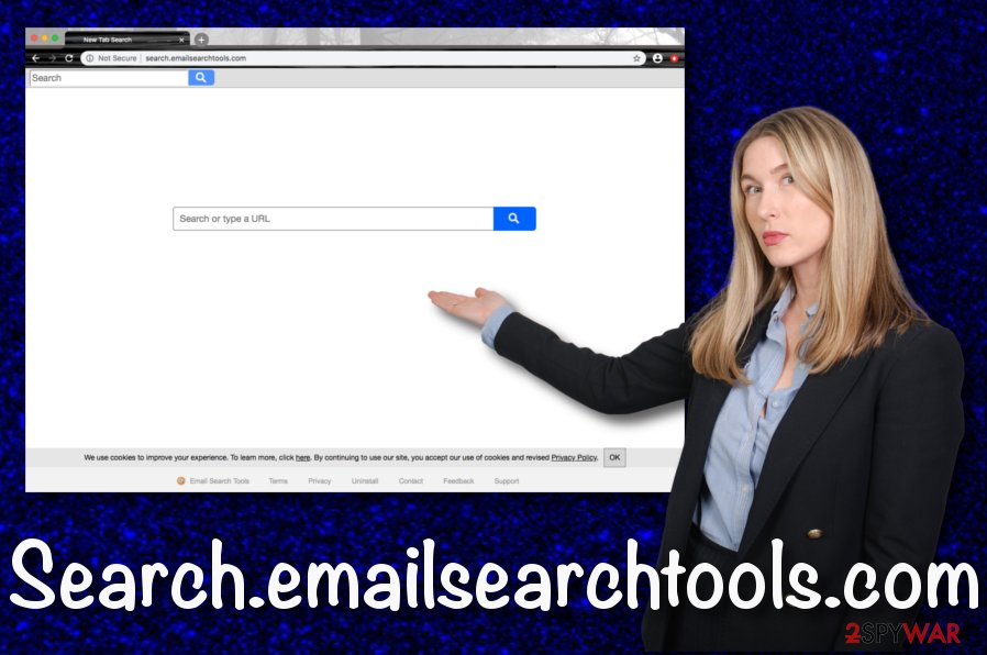 Search.emailsearchtools.com browser hijacker
