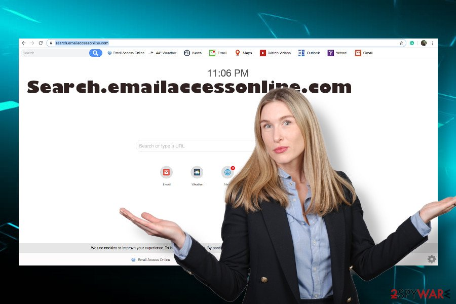 Search.emailaccessonline.com browser hijacker