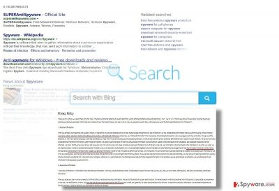 The screenshot of Search.facty