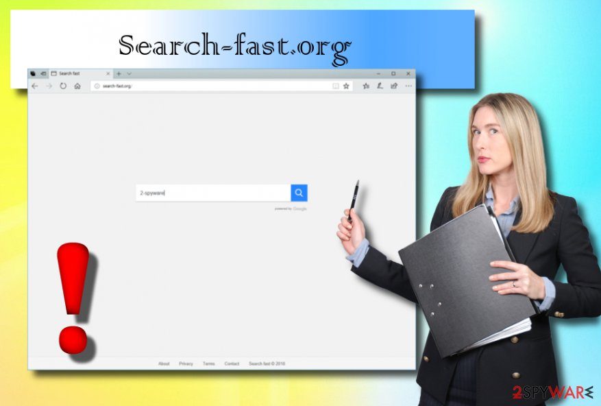 Search-fast.org browser hijacker