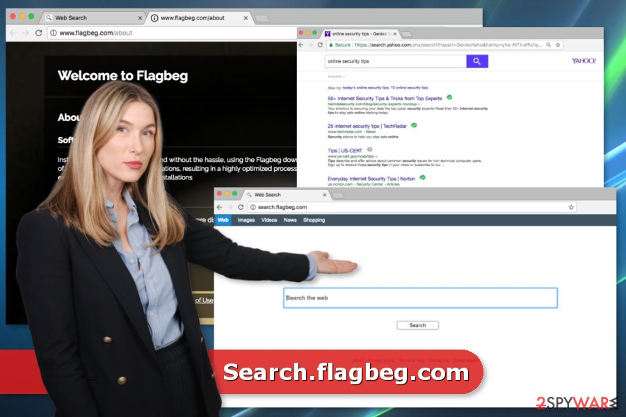 Search.flagbeg.com virus