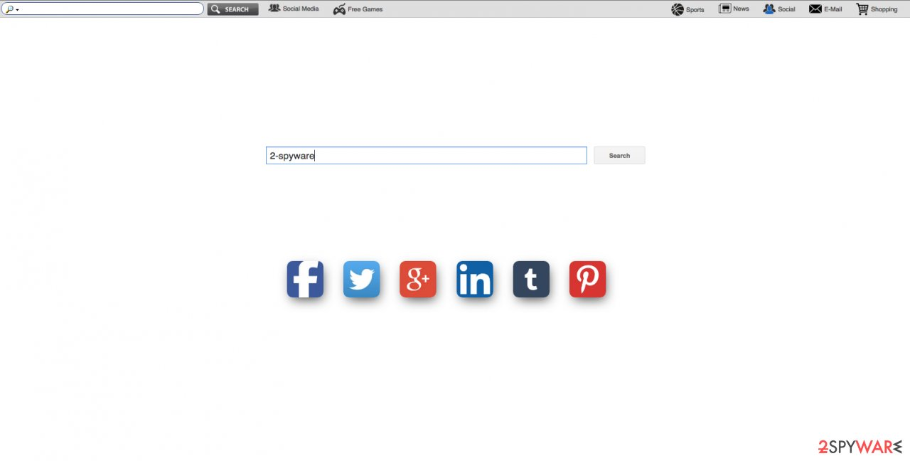 An image of search.funsocialtabsearch.com website
