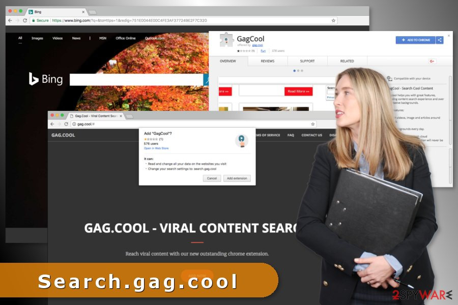 The picture of Search.gag.cool virus