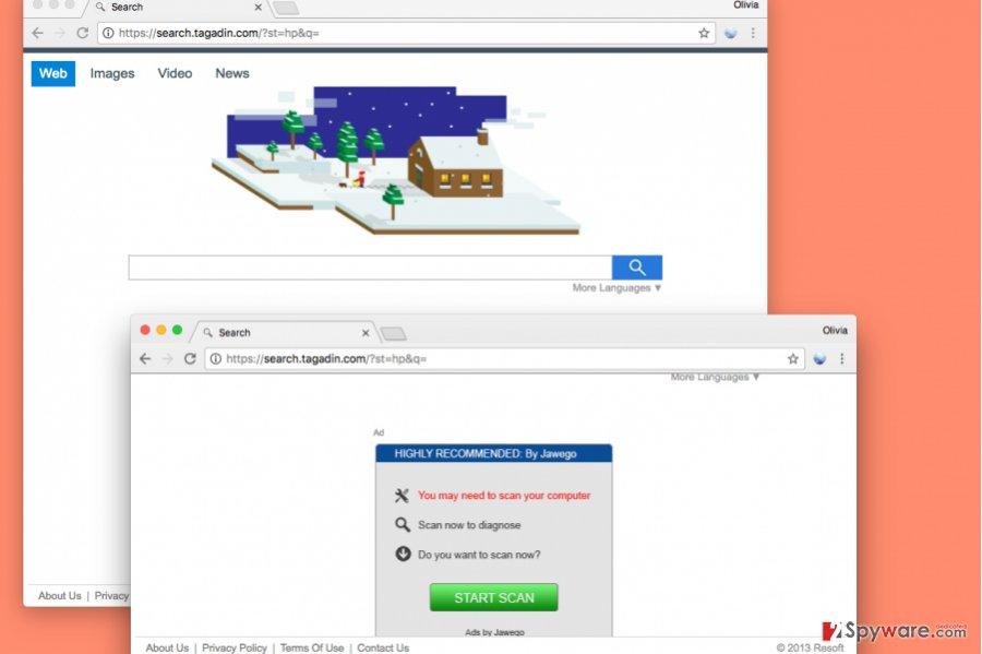 Search.gamekapow.com virus