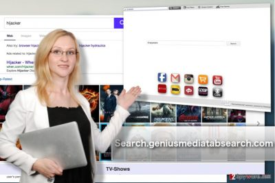 The image of Search.geniusmediatabsearch.com virus