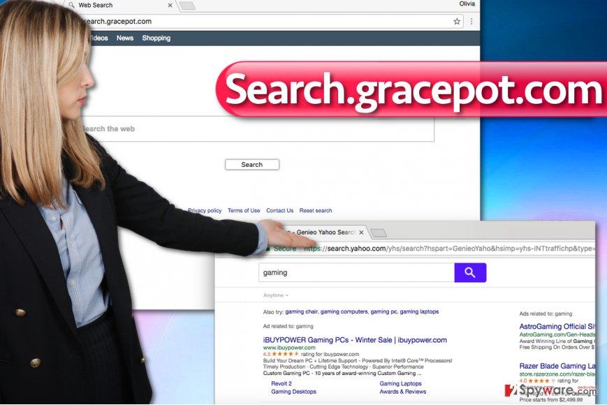 Search.gracepot.com virus