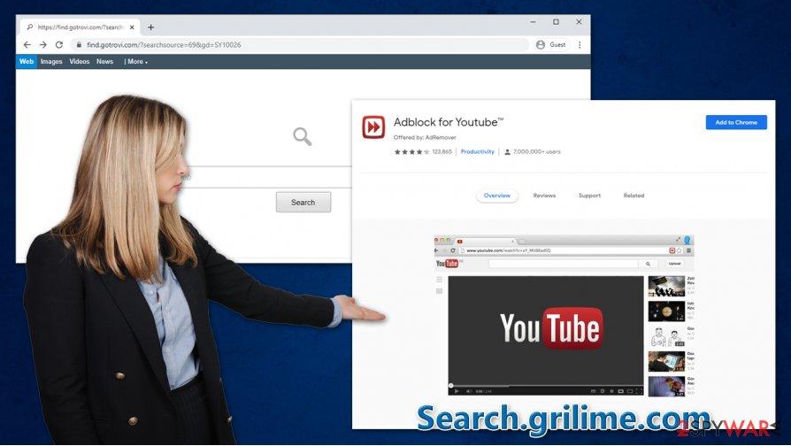 Search.grilime.com hijack